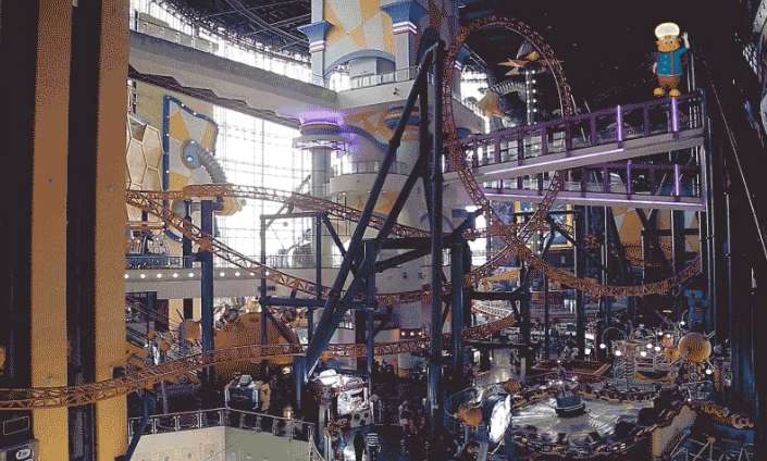 Spot Professor Cosmo and place the answer in comment box at Berjaya Times Square Theme Park