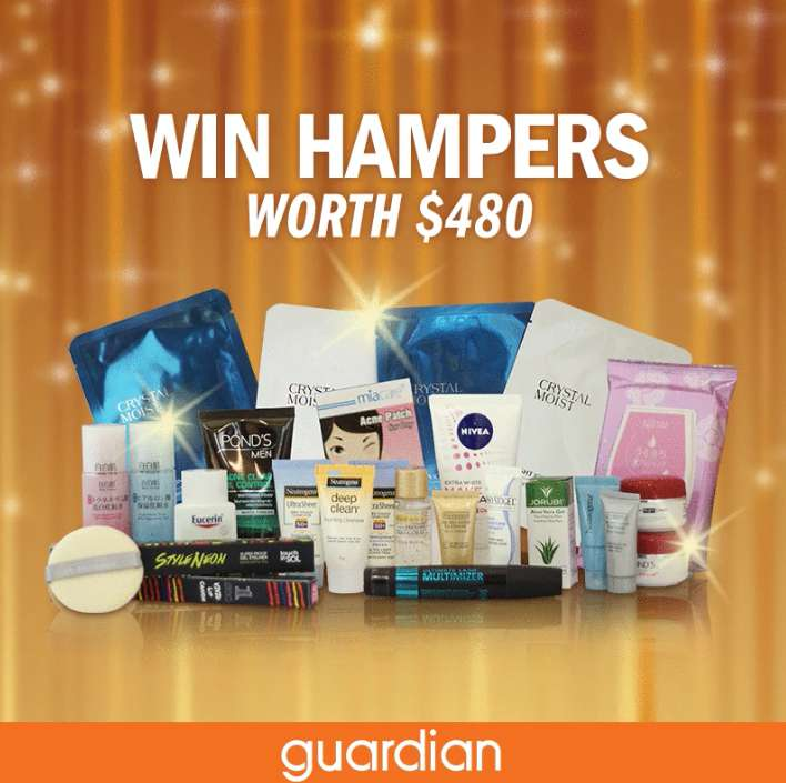 Stand a chance to win a Hamper at Guardian Singapore