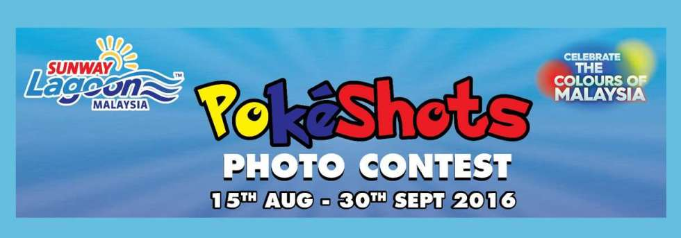 Sunway Lagoon PokeShots Photo Contest!