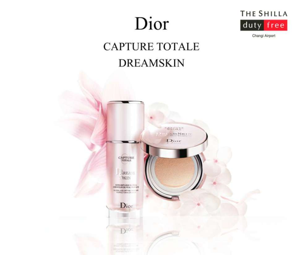#WIN Totale DreamSkin Products at The Shilla Duty Free Singapore
