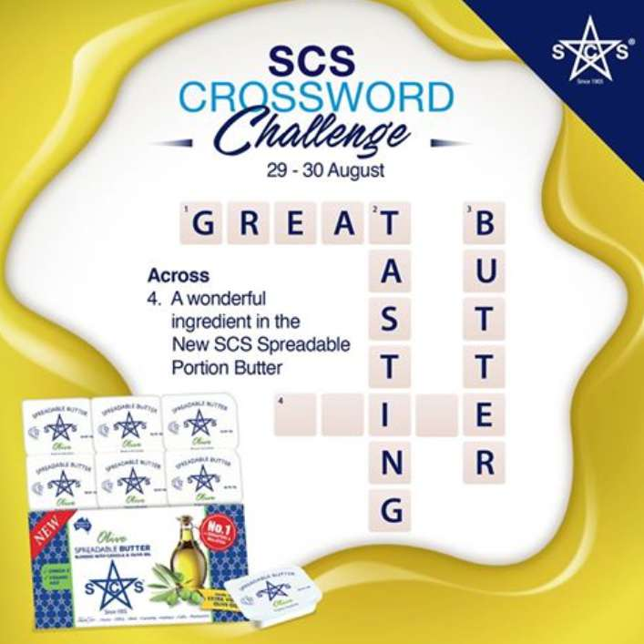 #Win yourself a gift pack of SCS's brand-new Olive Spreadable Butter Portions