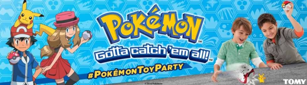 Host a Pokémon Toys House Party