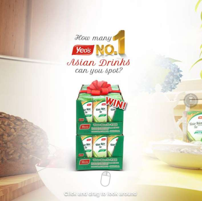 #Win 2 cartons of Yeo's Asian Drinks