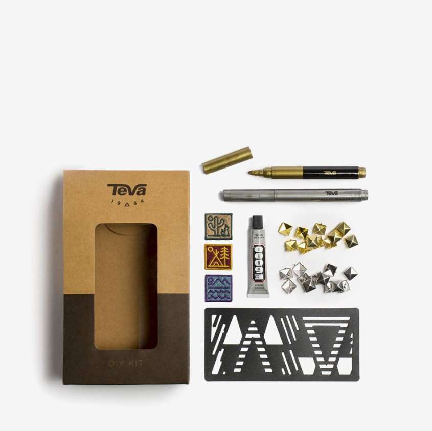 #Win this exclusive Teva DIY kit (worth $20) to customize your own pair of Teva