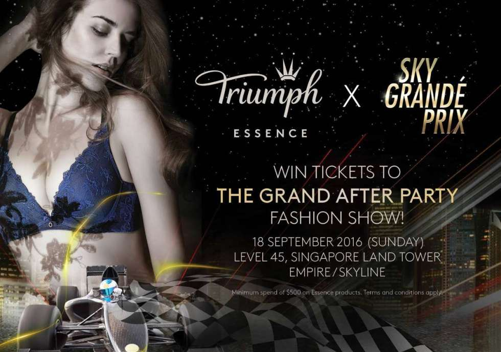 #Win tickets to the Grand After Party Fashion Show by Triumph