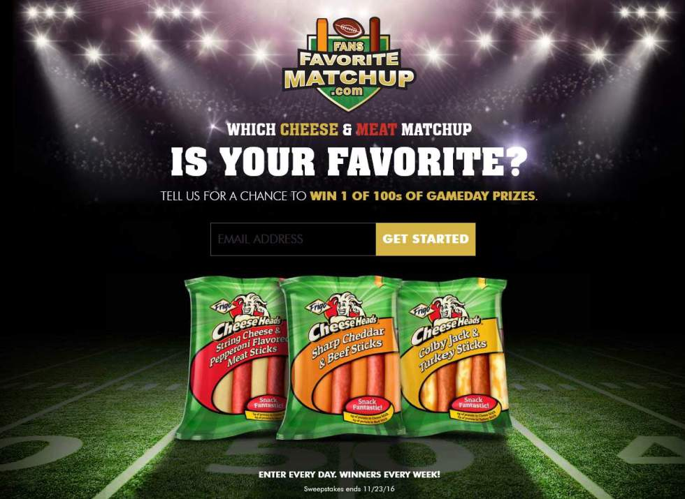the-frigo-cheese-heads-fans-favorite-matchup-sweepstakes