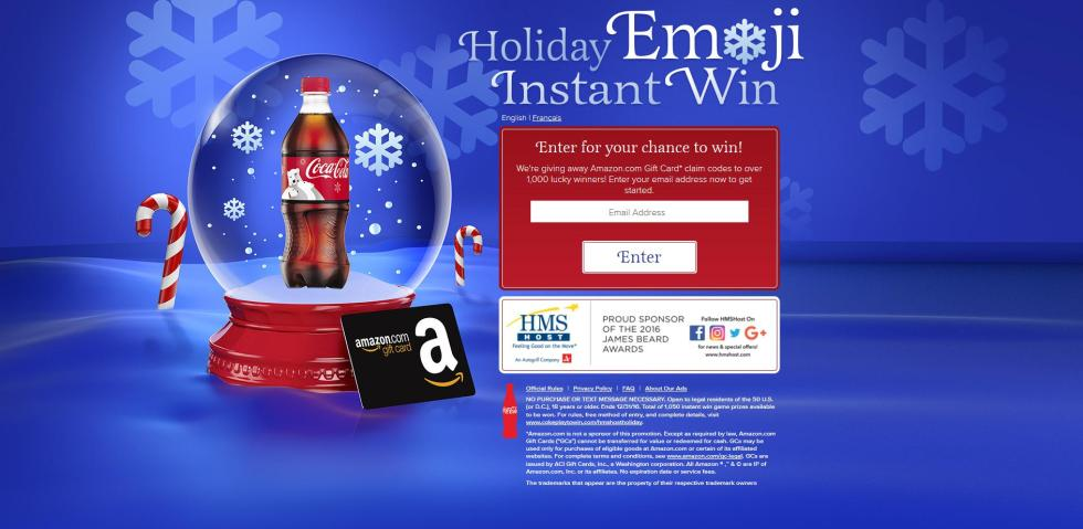 coca-cola-and-hmshost-holiday-emoji-instant-win