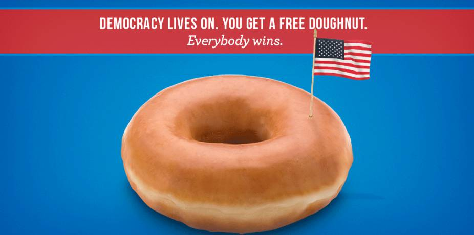 free-krispy-kreme-doughnut-of-choice-on-election-day