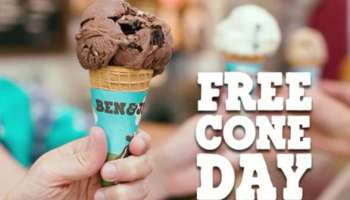 ben and jerrys free cone day 2017 singapore