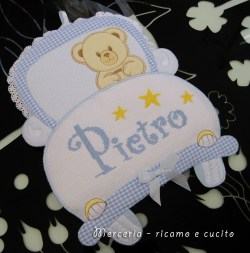 coccarda-fiocco-nascita-macchina-per-Pietro-2