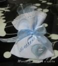 Sacchettini bomboniere portaconfetti con cuore per Matteo