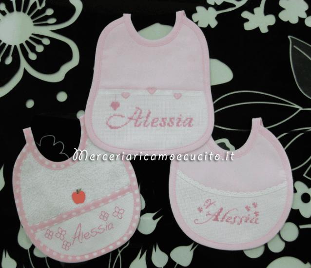Bavette personalizzate per Alessia