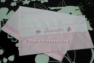 Set per Nascita -Sacchetti-nascita, lunzuolino e copertina per Jennifer