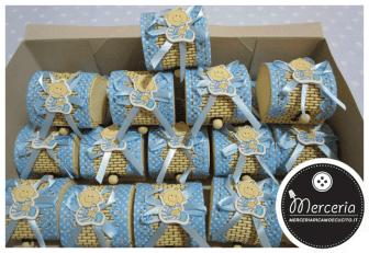Box portaconfetti nascita e battesimo per Giovanni