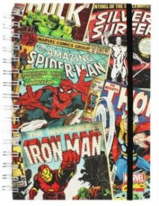 Image showing front cover of Marvel Notebook