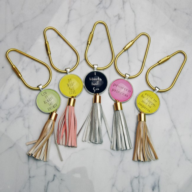 Image showing 5 different bag charms