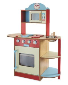 Wooden Toys. Image showing Large Red Kitchen