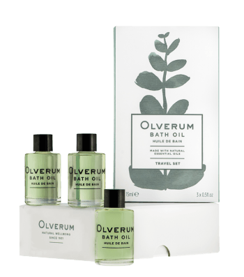 Image showing Olverum Bath Oil - Pack of 3