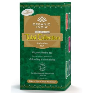 Discount Supplements Grandad Package - Image showing box of Tulsi Tea Variety Pack