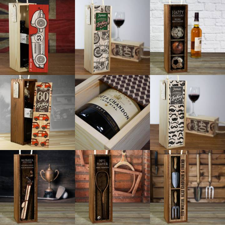 Image showing a selection of Timberbox Gift Boxes