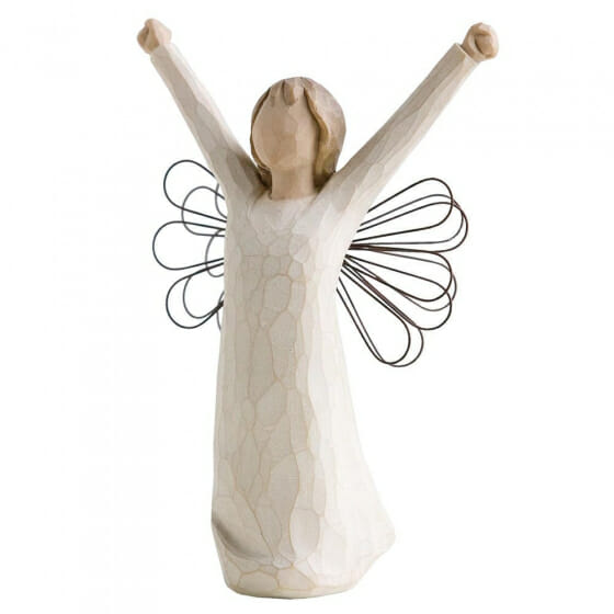 """WILLOW TREE ANGEL OF COURAGE - 6.0"""" 26149 - SOLD OUT"""