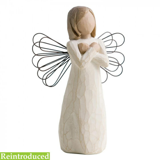 """WILLOW TREE SIGN FOR LOVE ANGEL  - 5"""" 26110"""