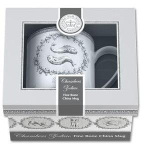 Chambers Zodiac mugs & box