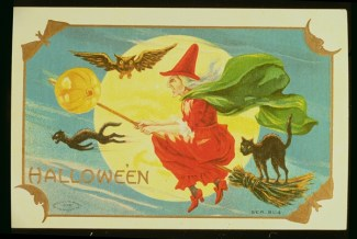 Halloween (colour litho)