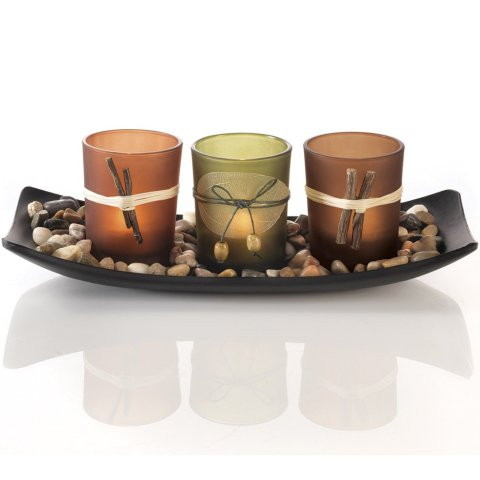 Decorative Natural Candlescape Set