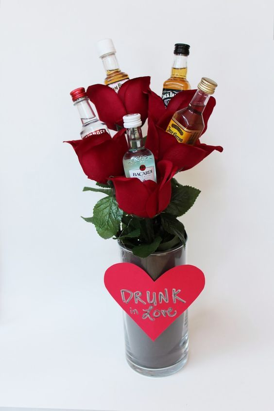 Valentines Day Gifts Alcohol Bouquet These Make Me