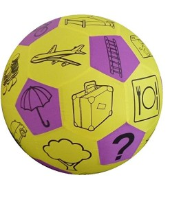 Play and Learn Story Fabric Ball sold by Gifts for little hands