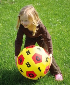 Hands-On Play and Learn Time Fabric Ball - 2