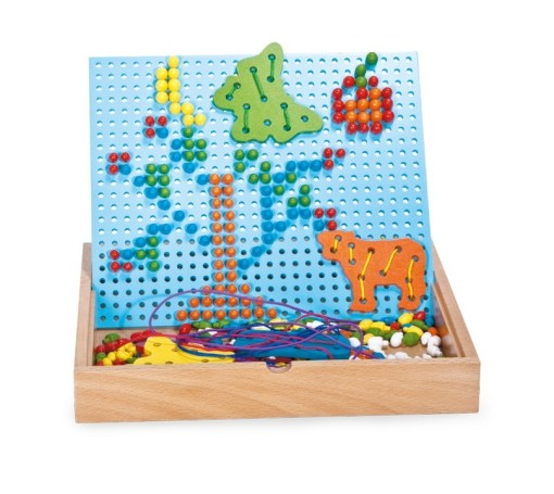 Creative Pin and Thread Puzzle