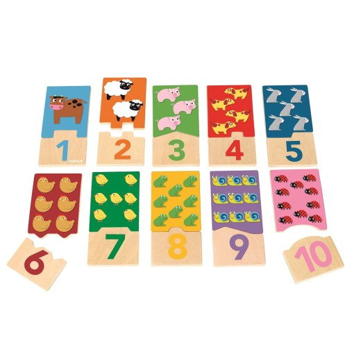 Goula Wooden Puzzle Duo -1