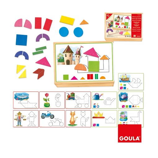 Goula Magnetic Puzzle Shapes and Figures sold by Gifts for little hands