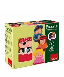 Goula Magnetic Character Puzzle