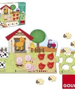 Goula Farm Cubic Puzzle - 2
