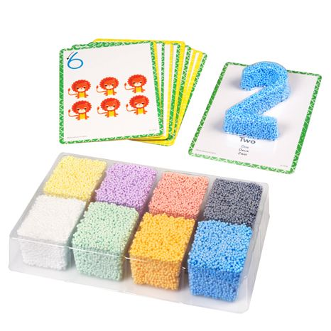 Playfoam® Shape & Learn Numbers Set sold by Gifts for Little Hands