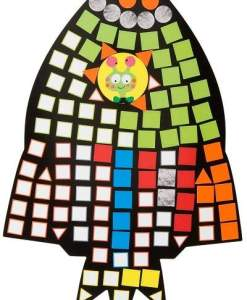 Zoom Zoom Mosaic sold by gifts for little hands
