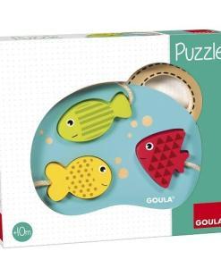 Goula 3 Fish Puzzle - 1