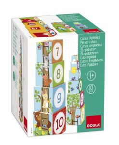Goula Pile-up Cubes Forest Puzzle