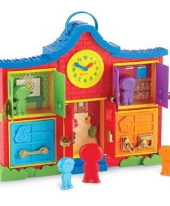 Latch & Learn School House sold by Gifts for Little Hands