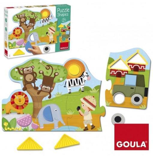 Goula Puzzle Shapes - 2