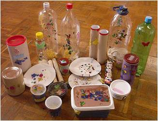 Plastic bottle for Gifts for little hands activity