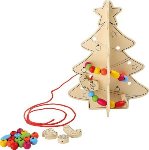 DIY Threading Christmas Tree sold by Gifts for Little Hands