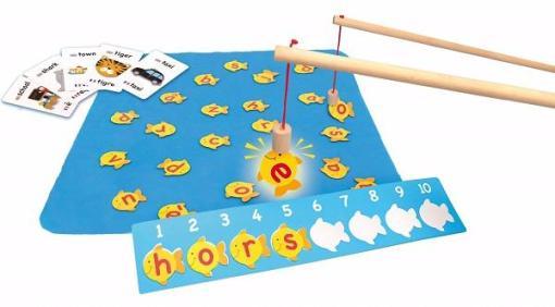 Fish N Spell Race