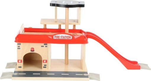 Wooden Firefighter Station with Accessories sold by Gifts for Little Hands