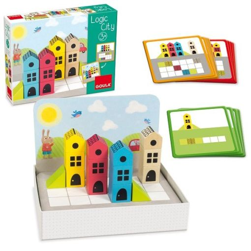Goula Logic City Game sold by Gifts for Little Hands