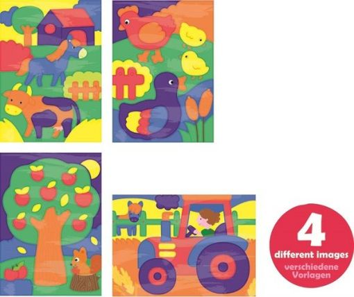 Dessineo Farm Color Paint by Numbers sold by Gifts for Little Hands