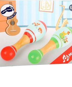 Legler Wooden Little Fox Maracas sold by Gifts for Little Hands